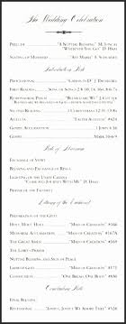 christian wedding programs wedding programs catholic mass wgekz beautiful christian wedding