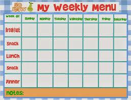daycare menu template templates memberpro co