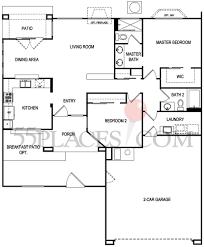 Sun City West Az Floor Plans Austin Floorplan 1196 Sq Ft Sun City Summerlin 55places Com