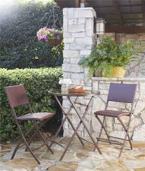 Folding Patio Bistro Set Cosco Outdoor Products Cosco Outdoor Living Transitional 3 Piece