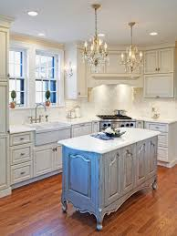 Distressed Island Kitchen by Photo Page Hgtv