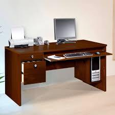 Desk With Printer Storage Long Computer Desk Decofurnish