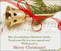 may the melodious christrmas carols christmas greetings