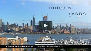 Hudson Yards Map Hudson Yards Construction December 2012 Through October 2015 On