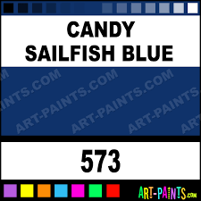 candy sailfish blue lacquer airbrush spray paints 573 candy