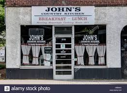 john u0027s country kitchen in plaza midwood charlotte nc stock photo