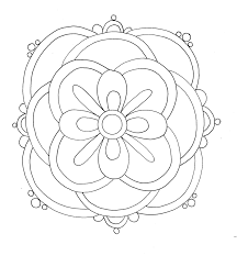 Pictures To Colour For Kids Best Free Printable Rangoli Coloring