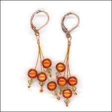 Knitted Chandelier Earrings Pattern 199 Best Earrings Images On Pinterest Leather Earrings Leather
