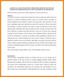 Write My Culture Dissertation Introduction by Literature Review Sample Art Resumes
