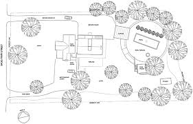 house site plan htons cottages gardens idea house 2008 floor plan