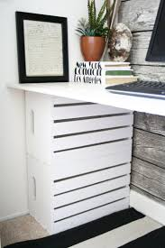 the 25 best crate desk ideas on pinterest crate storage desk