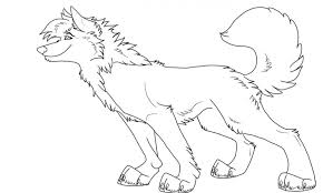 anime wolf coloring kids drawing coloring pages marisa