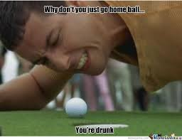 Happy Gilmore Meme - drunk happy gilmore balls by segafanalways meme center