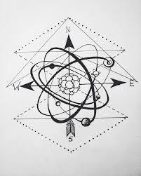 atomo dibujo tatoo pin by celly watanabe on tatoos pinterest tattoo tatoo and tattos