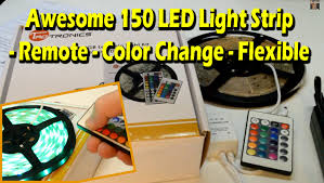 awesome 150 led light remote color change