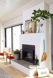 White Electric Fireplace With Bookcase by Top 25 Best Scandinavian Fireplace Ideas On Pinterest