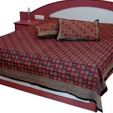 buy cotton exclusive designer double bed sheet 304 online best