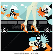 paparazzi clipart paparazzi taking pictures illustration stock vector