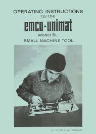 unimat sl lathe manual in adobe pdf format with linked table of