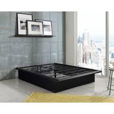 Bedroom Platform Beds Furniture In California Rest Rite Sammie California King Wood Bed Frame Rrscmb00853ck