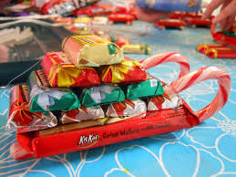 interesting christmas candy sleigh sweet easy kids crafts cane one