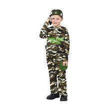 Army Halloween Costumes Boys Kids Military Uniforms Ebay