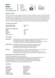 Sample Resume For Receptionist Receptionist Resume Objective Receptionist Resume Is Relevant With