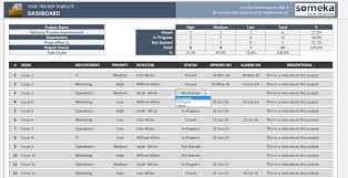 Excel Issue Tracking Template Issue Tracker Free Excel Template To Track Project Management Issues