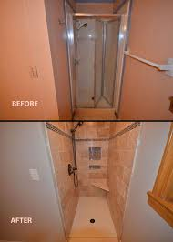 shower remodel ideas for small bathrooms remodeled small bathrooms before and after home decorating