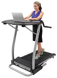 Computer Desk Treadmill Exerpeutic 2000 Workfit High Capacity Desk Station