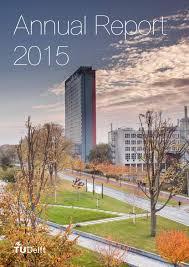 annual report 2015 by tu delft issuu