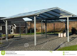 Modern Carport Modern Carport Car Garage Parking Stock Photo Image 47984493