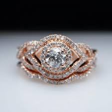interlocking engagement ring wedding band collection interlocking wedding band and engagement ring matvuk