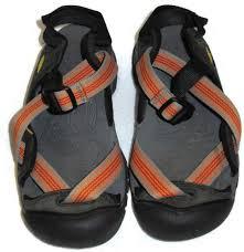 s keen boots size 9 keens zerraport sandals orange gray size 7 footwear water womens