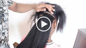 clip ins how to install clip ins on relaxed and hair knappy hair