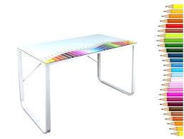 plateau verre bureau bureau dessus verre dessus de bureau en verre bureau dessus verre