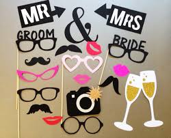 wedding photo props wedding photobooth props photo booth props set of 20
