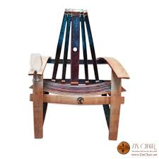 Wine Barrel Rocking Chair Plans Chair Barrel Stave Sommelier Chair With Swivel Seat Wine