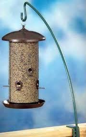 wild about birds tricks for hanging a bird feeder