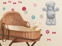 deco ourson chambre bebe déco sticker grand oursons teddy