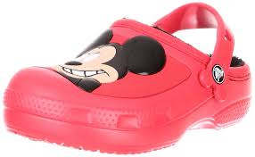Kitchen Shoes by Crocs Rain Boots Crocs Kids Mickey Mouse U0026 Goofy Lined Mules And