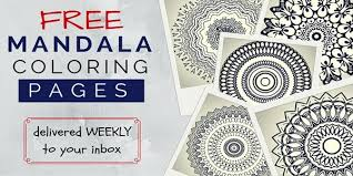 free mandala coloring pages adults zenfulcolor