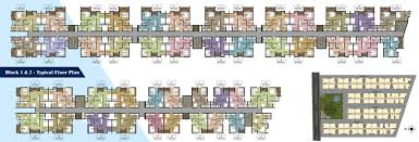 780 sq ft 2 bhk 2t apartment for sale in arun excello narmada