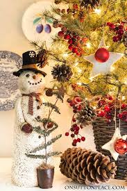 Tabletop Christmas Tree Decorating Ideas by Tabletop Christmas Tree Easy Fast U0026 Festive On Sutton Place