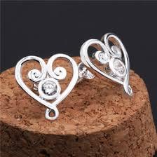 heart shaped items discount heart shaped ruby earrings 2017 heart shaped ruby