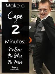 Halloween Costume Cape Making Halloween Soworthit Minute Cape Mamachallenge