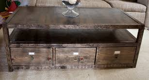 how to build a table with drawers 101 simple free diy coffee table plans