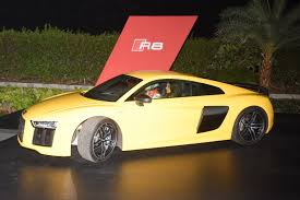 Audi R8 Yellow 2016 - faceinews com the fastest production audi ever new audi r8 v10