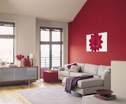 red box u0027 dulux colour for feature wall with new painting