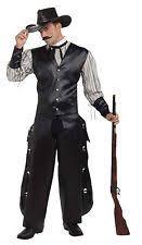 Halloween Costumes Cowboy Gambler Costume Ebay